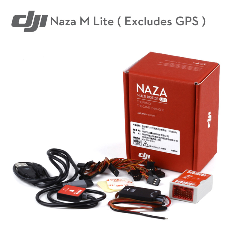 Original DJI Naza M Excludes GPS Flight Controller Multi rotor Fly Control Combo for RC FPV