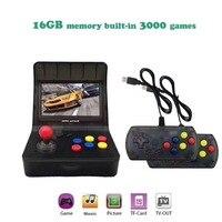 Портативный ретро мини портативные игровые консоли 4,3 дюймов Bulit в 3000 видео игры классические Семья игровой консоли подарок ретро