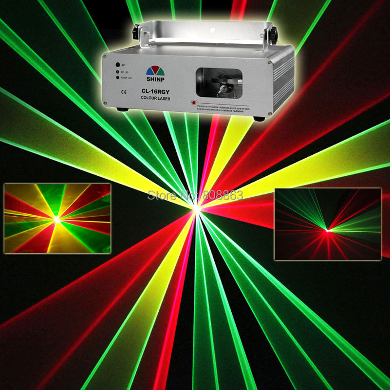 New RGY Laser Lines Scan Beam DMX512 DJ Dance Bar Xmas Party Club Disco Lighting Effect Stage Light Show S10