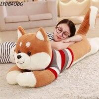 1pc Creative Giant Sweater Shiba Inu Dog Plush Toy Stuffed Soft Kawaii Animal Cartoon Pillow Lovely Gift Doll Kids Baby Children