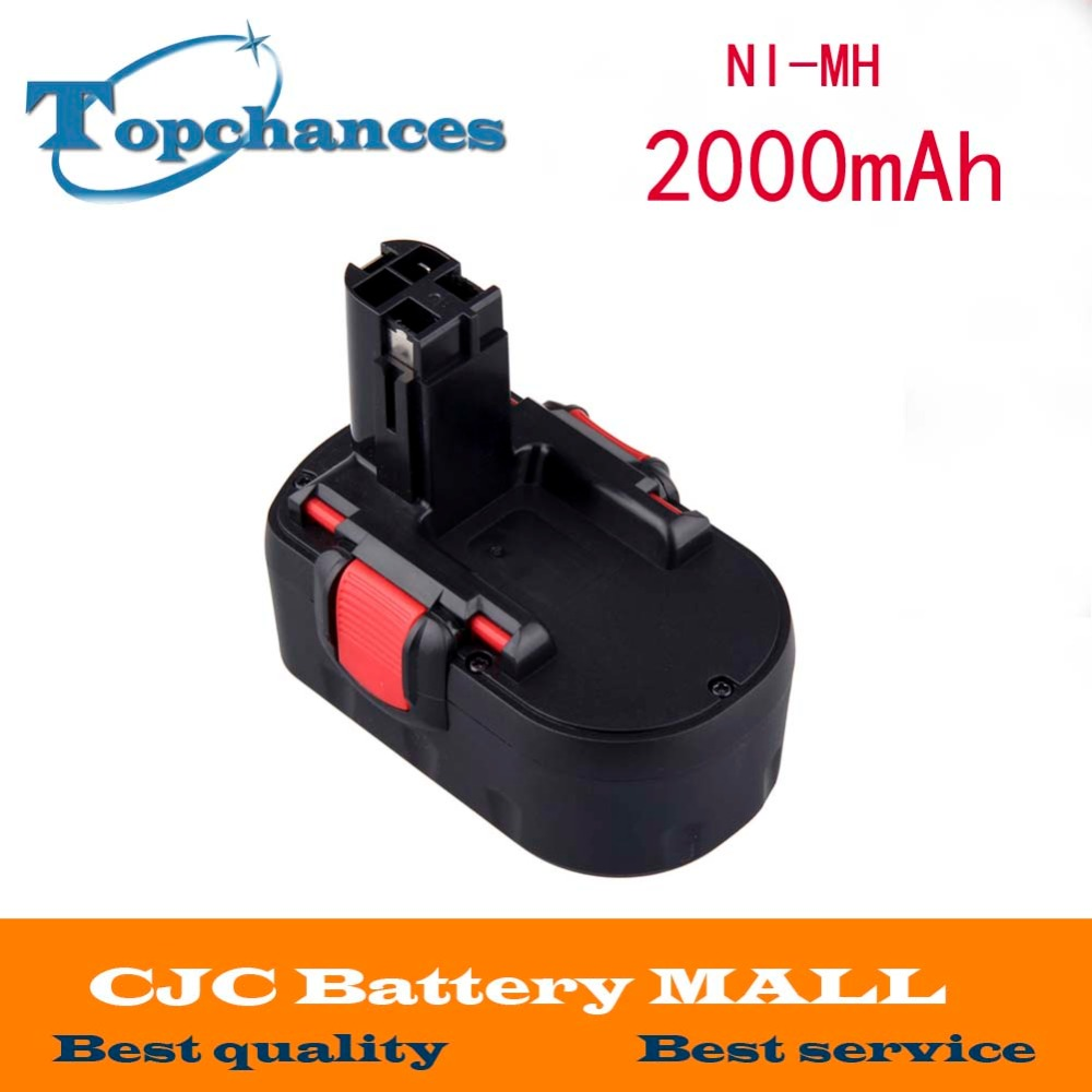 18V 2000mAh Ni-MH Rechargeable Battery for Bosch Power Tools Battery BAT025 BAT026 BAT160 BAT180 BAT181 BAT189 bosch c7 0 189 999 07m
