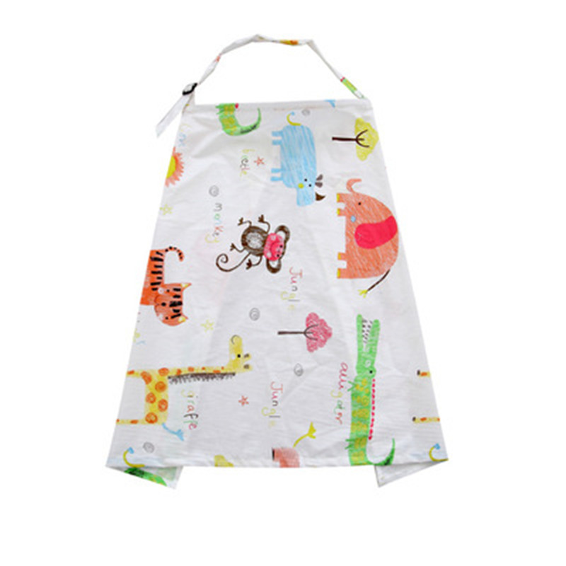 Cotton Outdoor Mother Feeding Maternity Breast Nursing Pads Covers Apron Shawl Anti-Emptied Breastfeeding Cover Scarf Towel