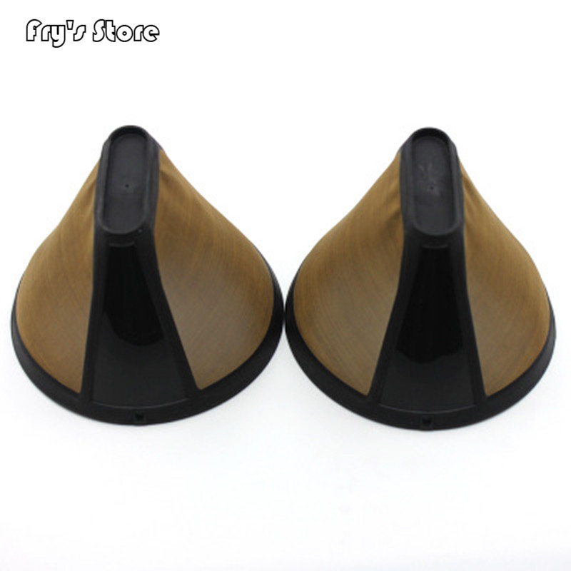 Fry's Store Coffee Pot Filter Golden Coffee Filter Cone Coffee Machine Special Solid-liquid Separation Filter For Dropshipping