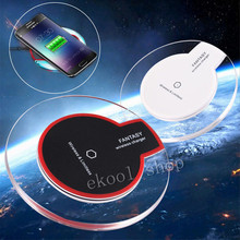 Fantasy Crystal Wireless Charging Pad Qi Charger Dock For Apple iphone 5 5S 6 6Plus 6S 6S Plus 7 7 Plus+Receiver Adapter