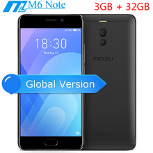 Resmi Meizu M6 Not 3 GB 32 GB 4G LTE Snapdragon 625 Octa Çekirdek 5.5