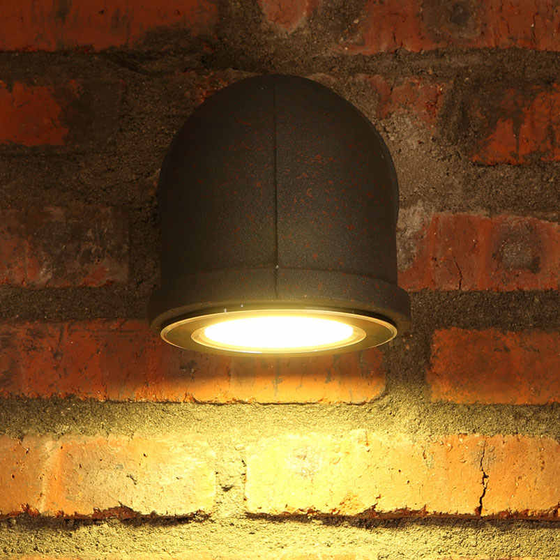 3W Retro loft LED wall lamp industry water pipe vintage iron light bar bedroom stair club living room corridor cafe lamp bra