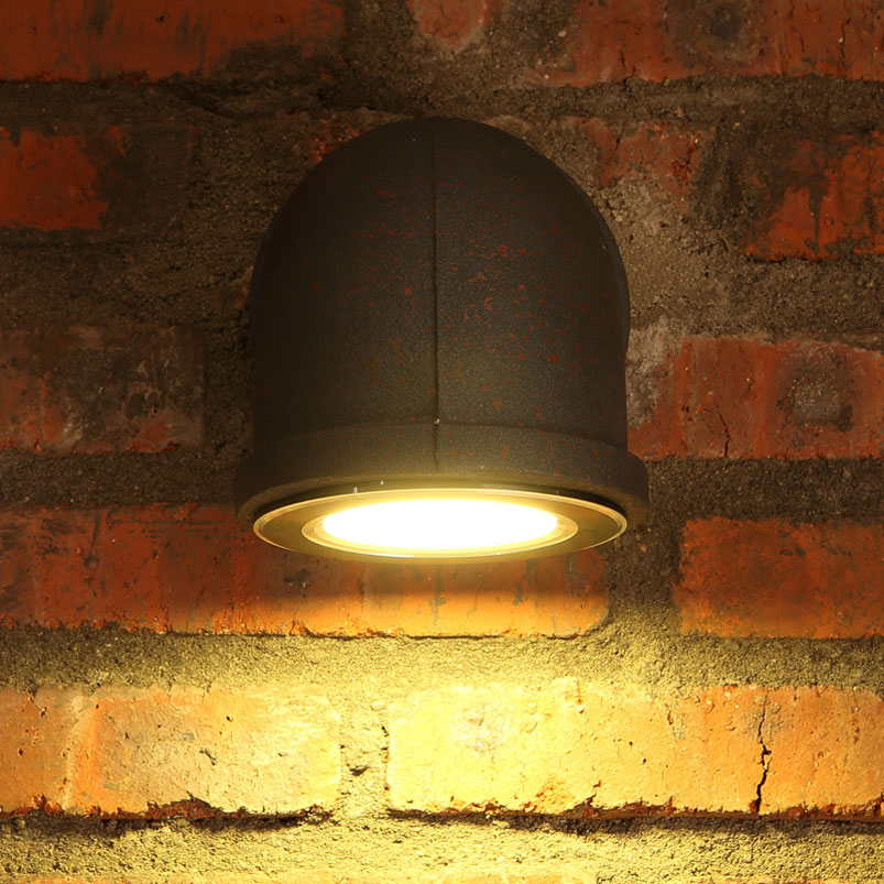 3W Retro loft LED wall lamp industry water pipe vintage iron light bar bedroom stair club living room corridor cafe lamp bra in LED Indoor Wall Lamps from Lights Lighting