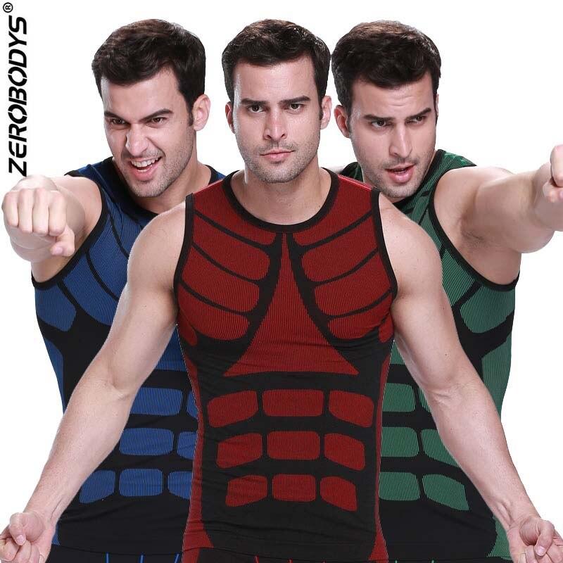 Vêtements Gaine Chaud Hommes Ventre Shapers Contrôle wOkXPN80n