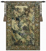 Medieval Landscape Living Room Jacauard Fabric Home Textile Belgium Wall Hanging Tapestry Los Dinking Big Size