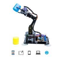 Adeept Arduino Compatibel Diy 5-As Robotarm Kit Voor Arduino Uno R3 | Stoom Robot Arm Kit Met arduino