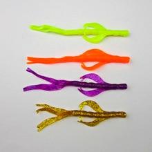 Fishing Soft Bait  Shad Plastic Worm Creature Bass Perch Grub Lures 115mm/ 3.2g