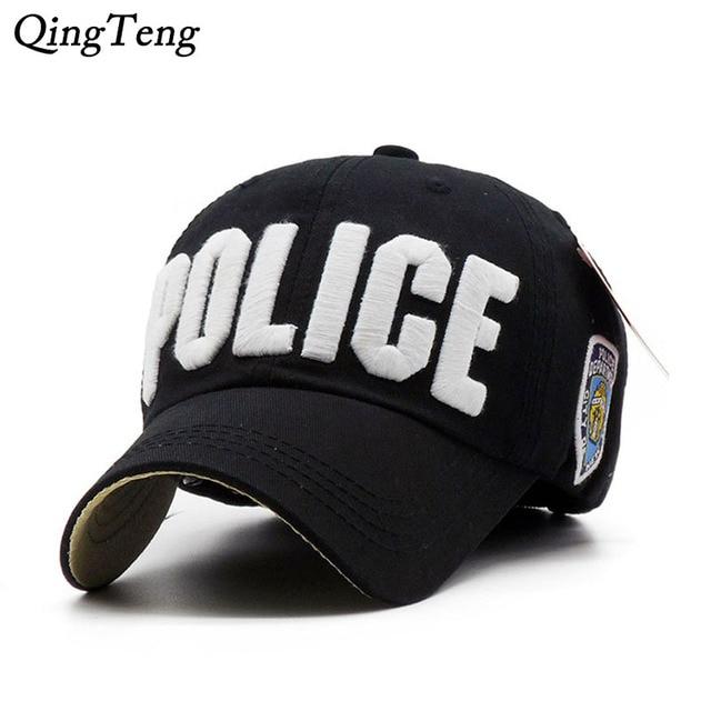 a67bda38b80 Hot Children Police Baseball Cap Kids Boys Girls Snapback Hats Casual Cotton  Letter Sports Caps Adjustable Hip Hop Sun Caps