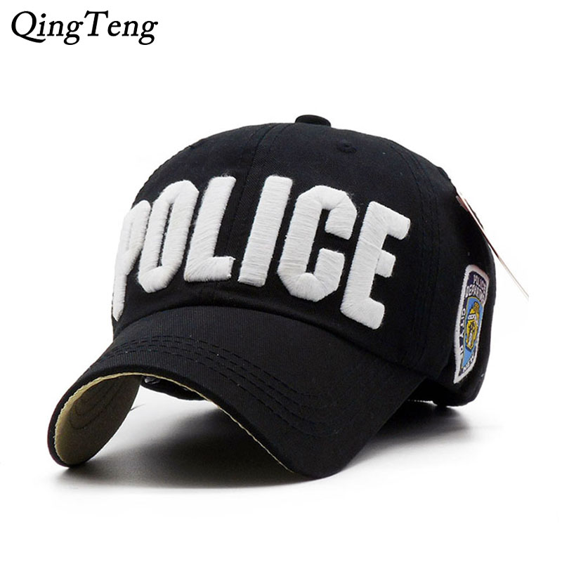 Hot Children Police   Baseball     Cap   Kids Boys Girls Snapback Hats Casual Cotton Letter Sports   Caps   Adjustable Hip Hop Sun   Caps