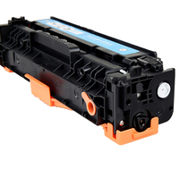1pcs black toner cartridge For CF380A CF 380 380A For HP M476 NW MFP M 476DW MFP M476 NWMFP