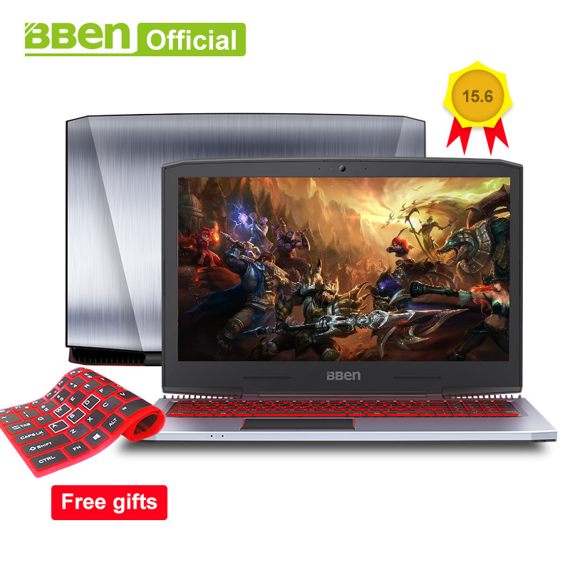 BBEN G16 Gaming Laptops Pro Windows10 computers 15.6 GTX1060 Intel Core i7 7700HQ DDR4 8G/16G/32G RAM 256G/512G SSD,1TB/2TB HDD