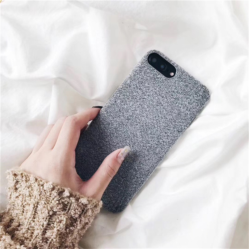 Soft Plush Phone Cases For Apple iPhone 8 7 6 6S Plus Coque For iPhone X XR XS Max Winter Warm Fur Furry Cover Shell Gift Fundas03
