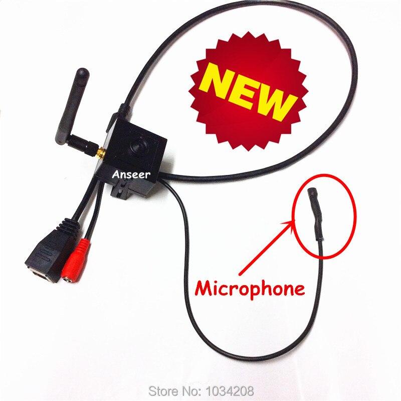Pinhole 720P H.264 Onvif 1.0 MegaPixels HD IP Camera Wifi Wireless Mini CCTV P2P Camera With Microphone Free IOS & Android APP mini onvif 720p wifi camera wireless hd security cctv ip camera h 264 p2p pan