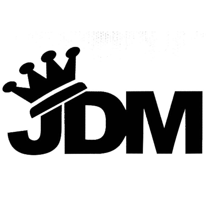 14cm*7.7cm Japan JDM Crown Vinyl Window Decal Car Stickers C5-0755