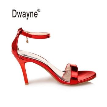 Big Size Women's Shoe 9cm High Heels AM97 Special Summer Pumps Sandal Party Shoes For Women Wedding Shoes