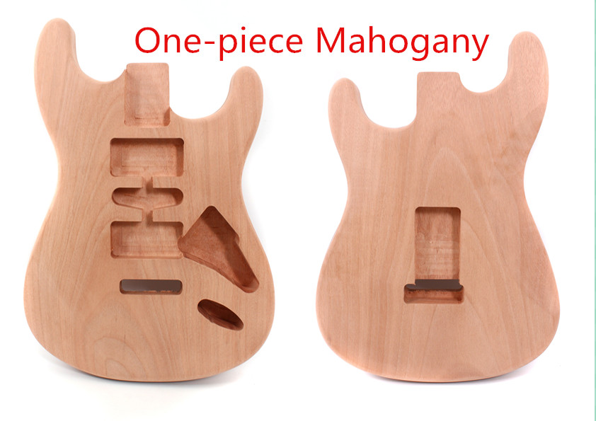 unfinished ST Guitar Body HH Unfinished One-piece Mahogany DIY Electric Guitar студийные мониторы genelec 8340apm grey