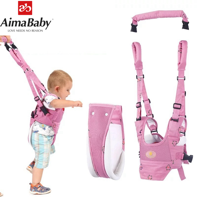 Andador de bebé para niños que aprende a caminar mochila de arnés de bebé para niños Mejora de los niños Anti pérdida de enlace de muñeca con bloqueo niño bebé andador muñequera correa de seguridad arnés de seguridad para caminar al aire libre cuerda de la correa