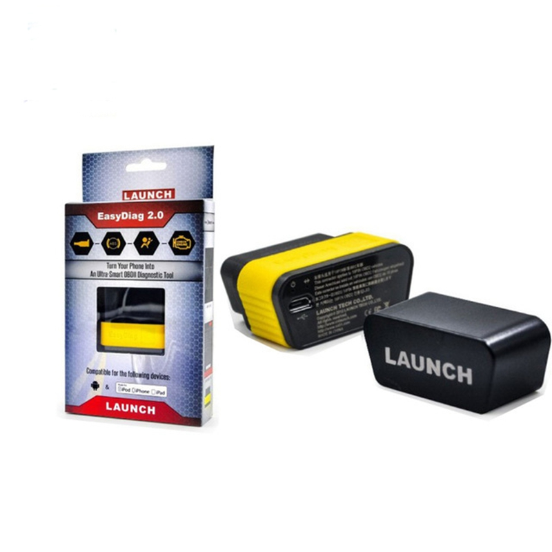 LAUNCH EasyDiag 2.0 Built-In Bluetooth OBDII Generic Code Reader Easydiag 2.0