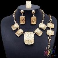 Free Shipping Women S Gift Jewelry Fake Gold Jewelry Set Wedding Jewelry Set