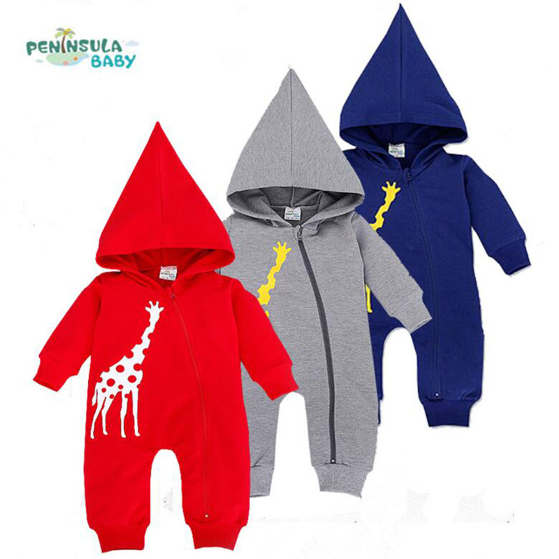 Baby Hoodies Newborn Rompers Boys Clothes for Autumn Magical Hooded Romper Long Sleeve Jumpsuit Kids Costumes Girls Clothing 2016 autumn newborn baby rompers fashion cotton infant jumpsuit long sleeve girl boys rompers costumes baby clothes