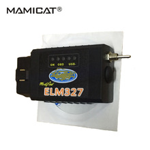 New Modified ELM327 OBDII OBD2 With Switch OBD2 ELMconfig FOCCCUS OBD HS-CAN / MS-CAN Free Shipping