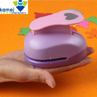 4 6cm DIY Paper Printing Card Cutter Scrapbook Shaper Extra Large Embossing Device Hole Punch Kids