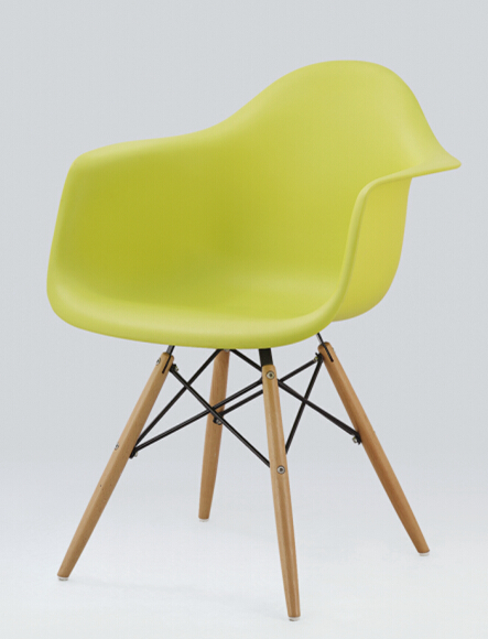 Popular High Quality Charles Style Eiffel Chair Sillas With Wooden Legs,  Outdoor Plastic Chair,