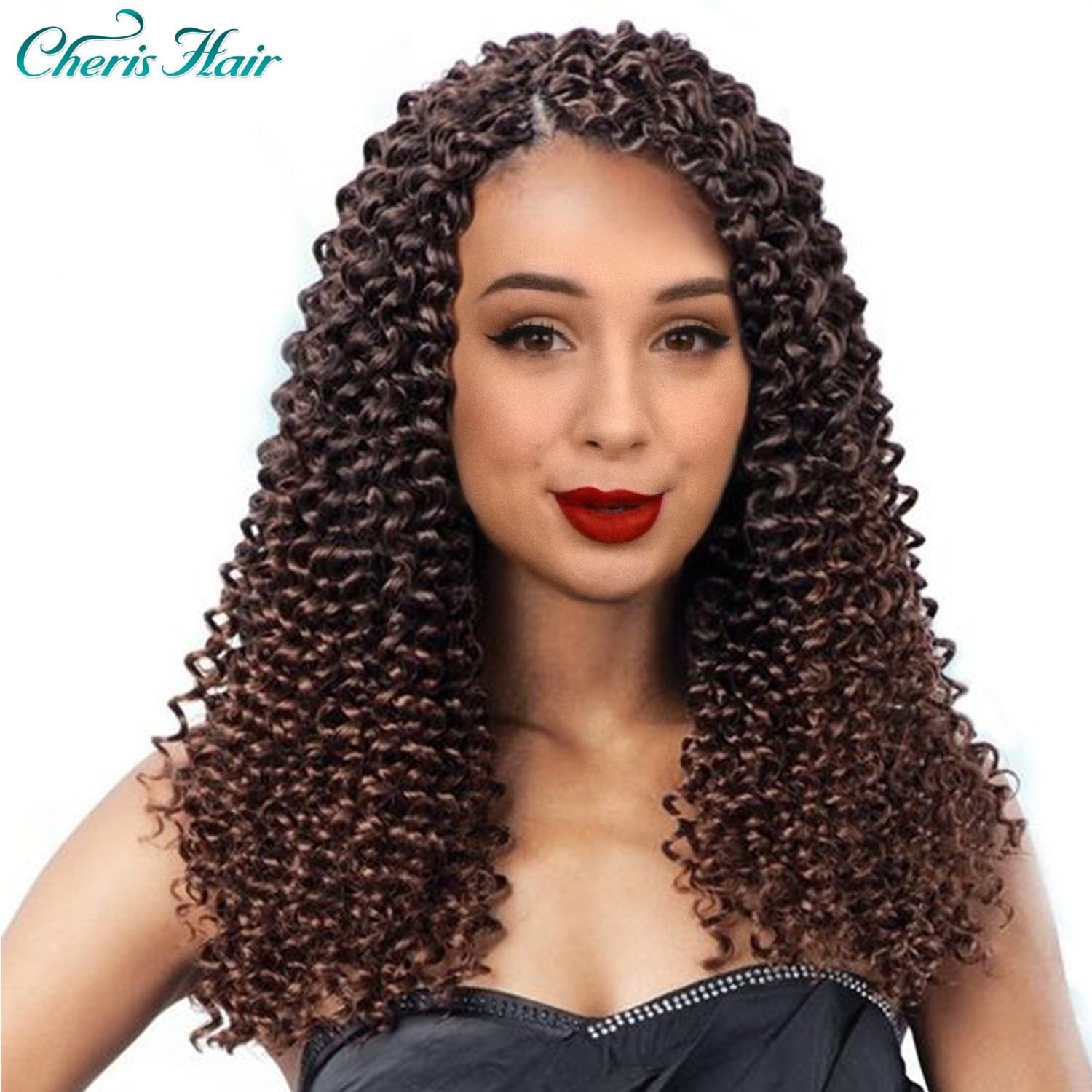 Curly Crochet Hair Water Wavy Curly Hair 14 Inch /100 G / PC Crochet Freetresse Hair Extension Synthetic Hair Pieces