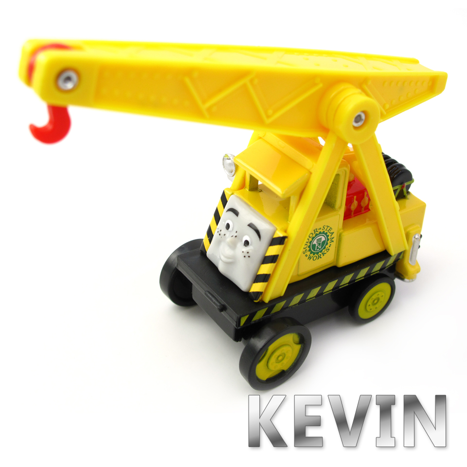 Diecasts Vehicles Thomas T080D KEVIN Thomas And Friends Magnetic Tomas Truck Car Locomotive Engine Railway Train Toys for Boys