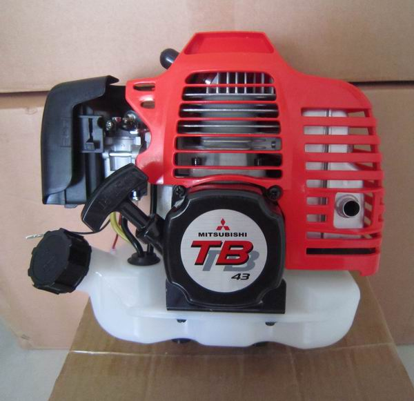 TB43 GASOLINE ENGINE FOR MITSUBISHI 42.7CC 2 STROKE POWERED BACKPACK AUGER BLOWER BRUSH CUTTER TRIMMER SPRAYER FINISHED UNIT