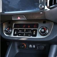Car Syling Interior Ac Knob Gear Shifer Decorative Trim Frame Kit Car Styling Case For Kia