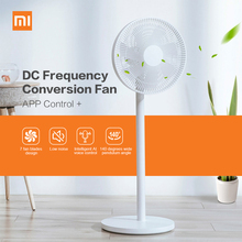 все цены на Original Xiaomi Mijia 1X DC Frequency Conversion Fan APP Control For Home Cooler Floor Standing Fan Air Conditioner Natual Wind онлайн