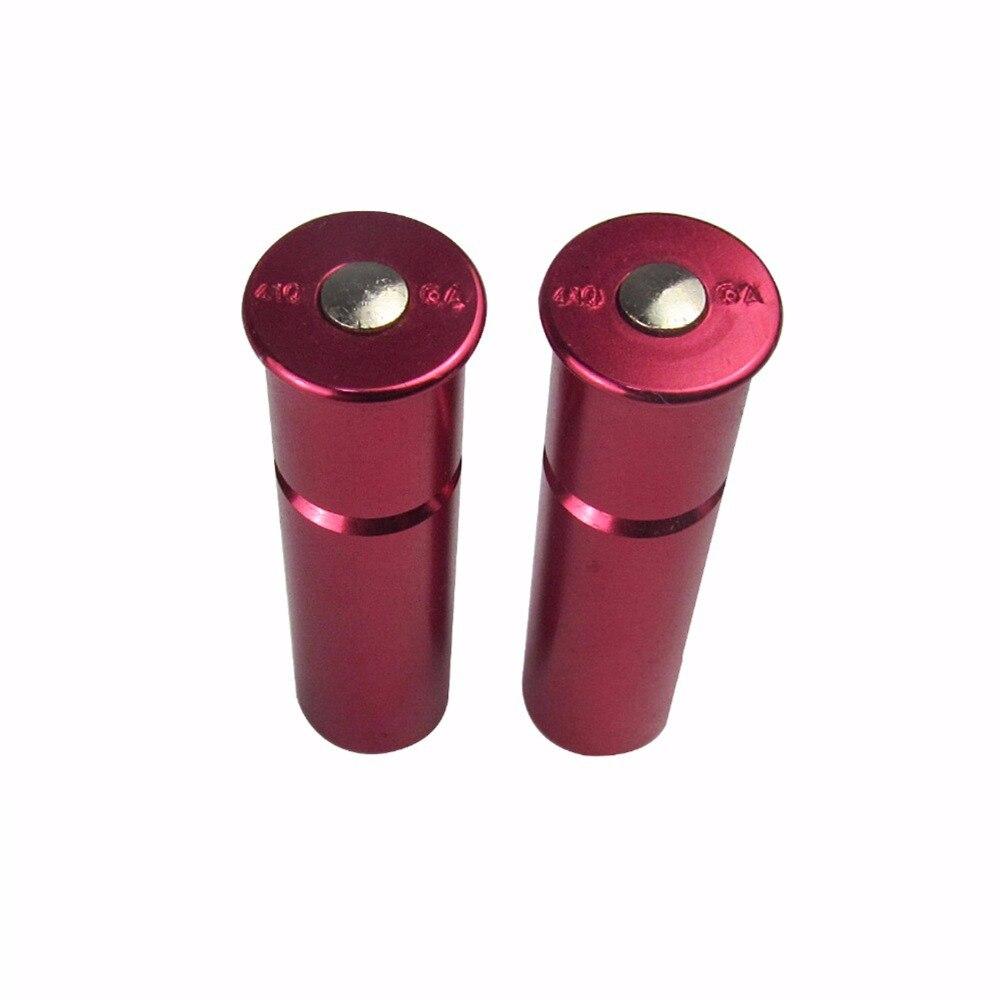 Tourbon 2 unids 410 Escopeta Calibre Tapas A Presión de Aluminio Reutilizables p