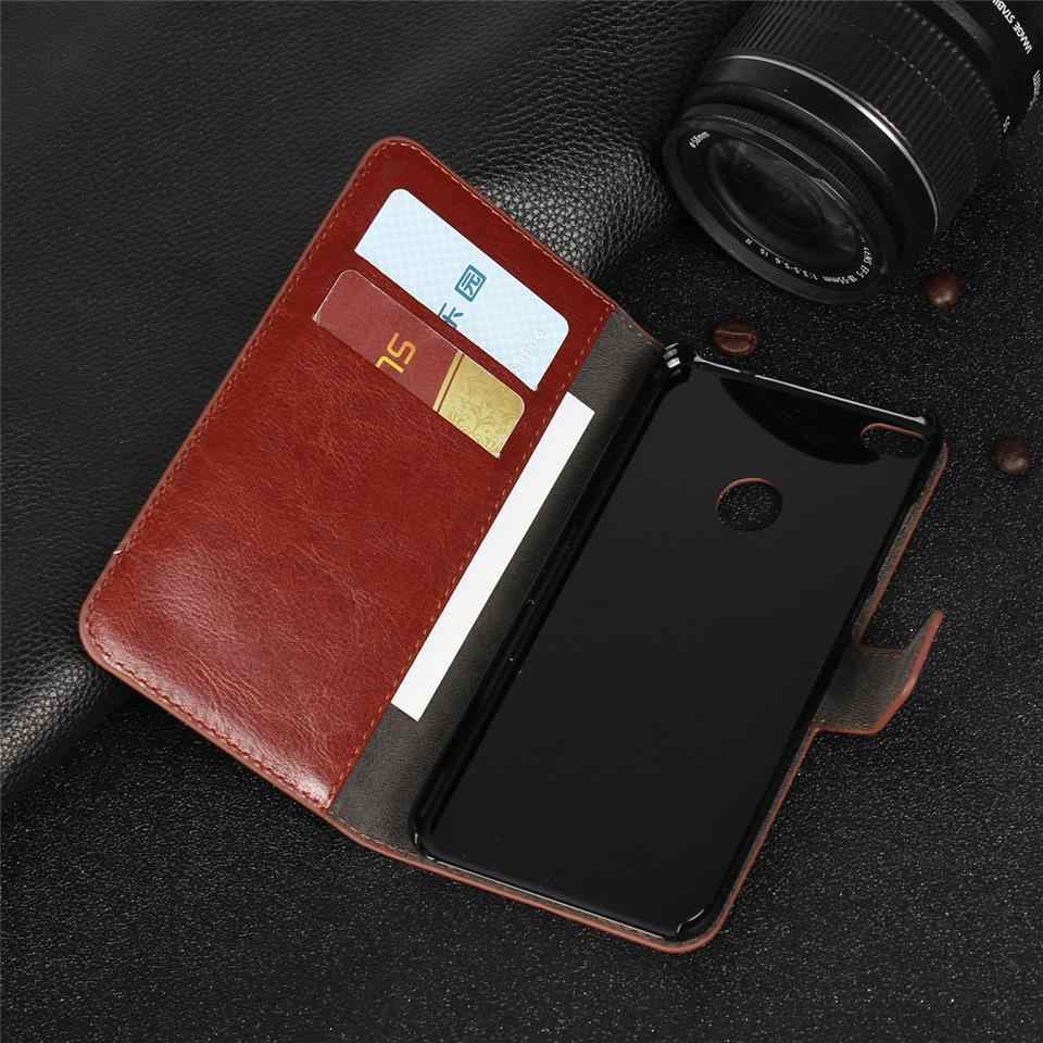 Luxury Leather Case For Huawei P8 Lite 2017 P9 P10 Y300 Y530 Cover Wallet Pattern Flip Magnetic Shell Pouch Phone Cases Fundas