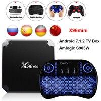 X96mini Android 7 1 2 TV Box Amlogic S905W 2GB RAM 16GB ROM 1GB 8GB Quad