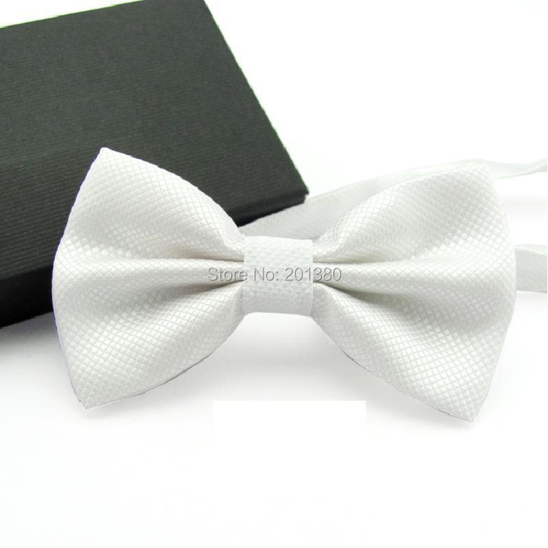 17 Solid color bowtie men Bow Tie Fashion butterflies white black blue 7