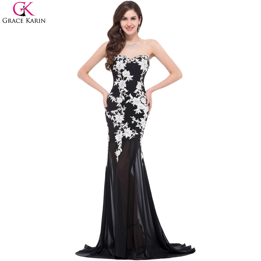 elegant prom dress 2017-#17