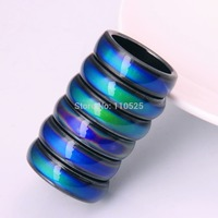 Hot Sales Fashion Magnetic Hematite Rings For Women & Men 60PCS/lOT Healing Mood Tracker Exclusive Customization