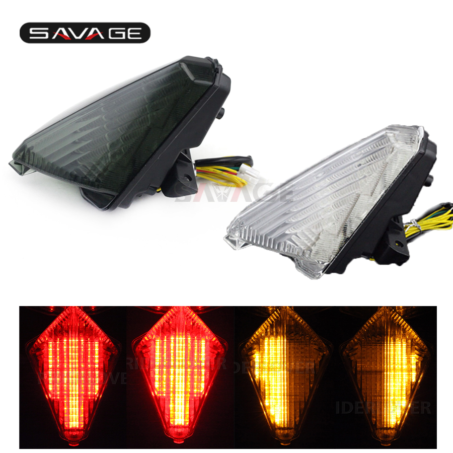LED Tail Brake Light Turn Signal For YAMAHA XP530 TMAX T MAX 530 2013 2016 14 15 Motorcycle Accessories Integrated Blinker Lamp