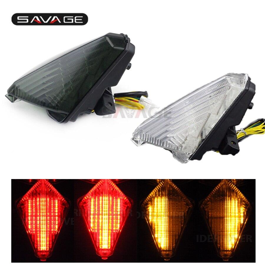 LED Queue De Frein Lumière Clignotants Pour YAMAHA XP530 TMAX T-MAX 530 2013-2016 14 15 Moto Accessoires Intégré clignotant Lampe