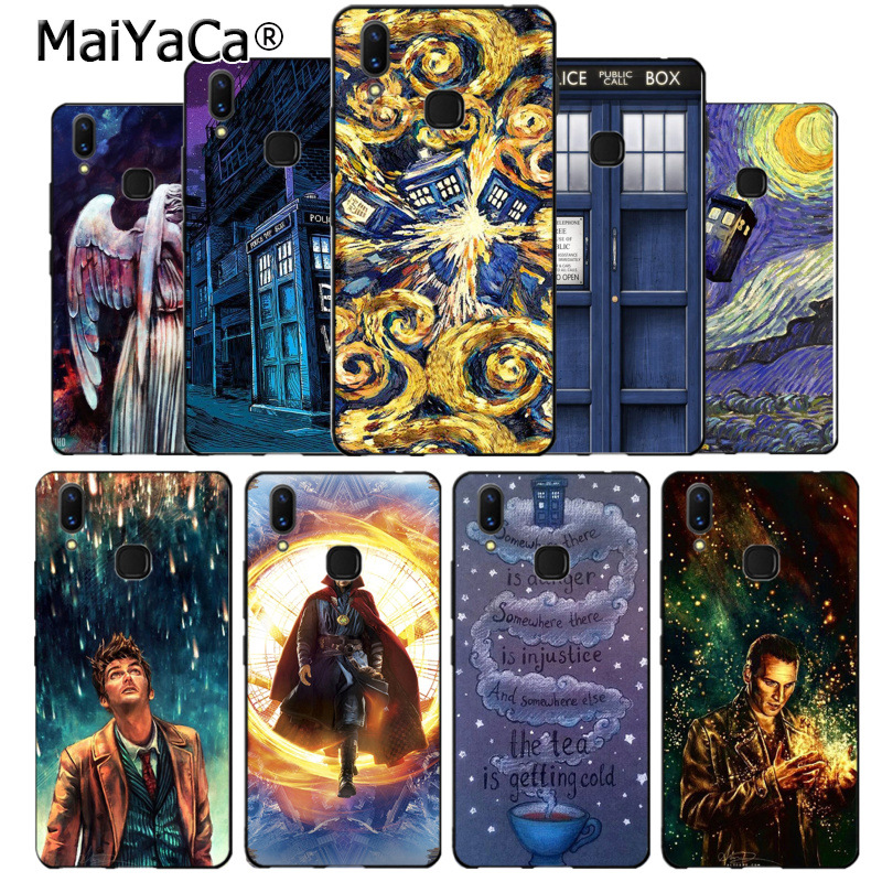 Cellphones & Telecommunications Half-wrapped Case Maiyaca Tardis Box Doctor Who Special Offer Luxury Vertical Phone Case For Vivo V9 X20 X20plus X21 X21 Ud Nex Y83 V7 Y97 Coque Providing Amenities For The People; Making Life Easier For The Population