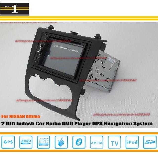 Para NISSAN Altima 2007 ~ 2012-Radio CD Reproductor de DVD Estéreo Del Coche GPS