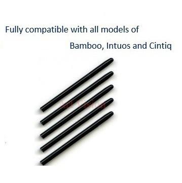 50 упак. / много графический рисунок стандартный черный пера для Wacom и бамбук для Intuos Cintiq в