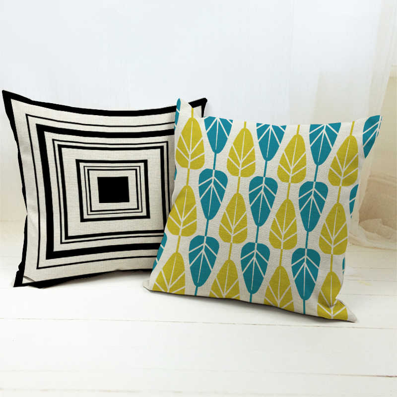 Ideas About Fall Themed Couch Pillows With Blue