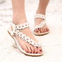 Sandałki damskie FLOWERS