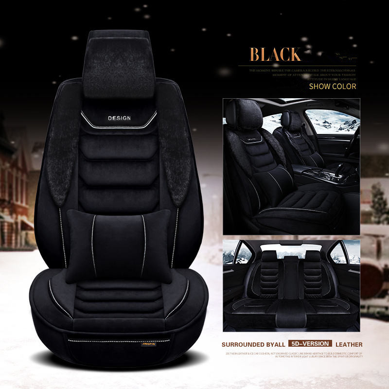 New 5Seats Front Rear Car Seat Covers Car Seat Cushions Car pad auto seat cushions For
